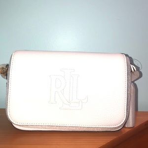 💯% Lauren Ralph Lauren Pebble Leather Crossbody
